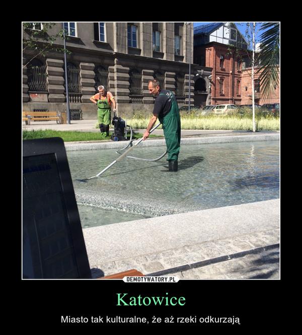 Katowice – Miasto tak kulturalne, że aż rzeki odkurzają