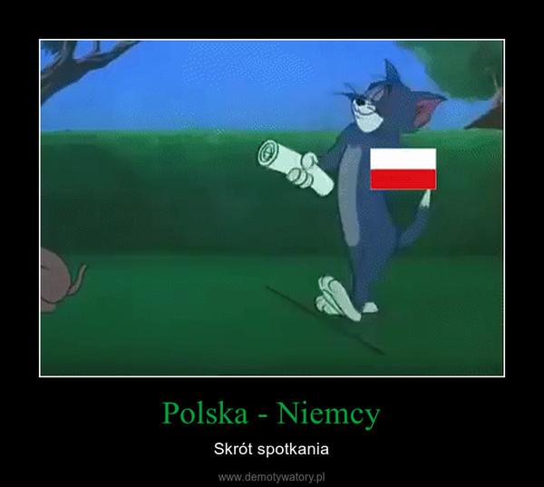 Polska - Niemcy – Skrót spotkania