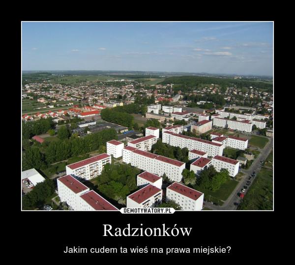 Radzionków – Jakim cudem ta wieś ma prawa miejskie?
