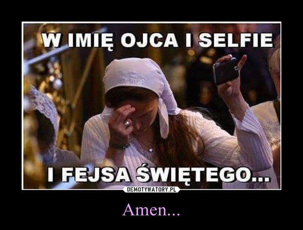 Amen... –