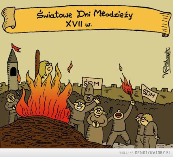 ŚDM –  Światowe dni młodzieży XVII w.