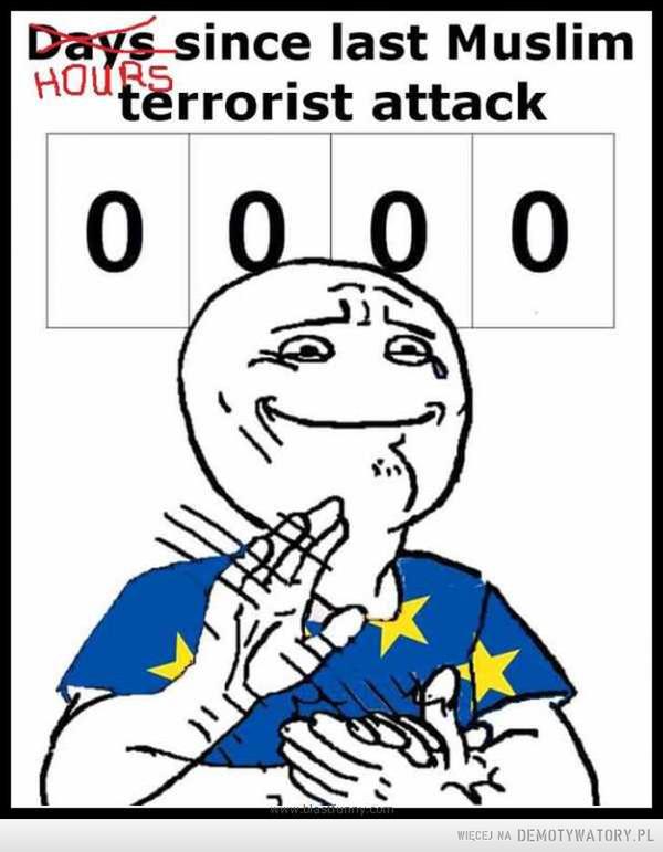 Zachód Europy jest dumny. A czy Ty też jesteś dumny z takiego wyniku? –