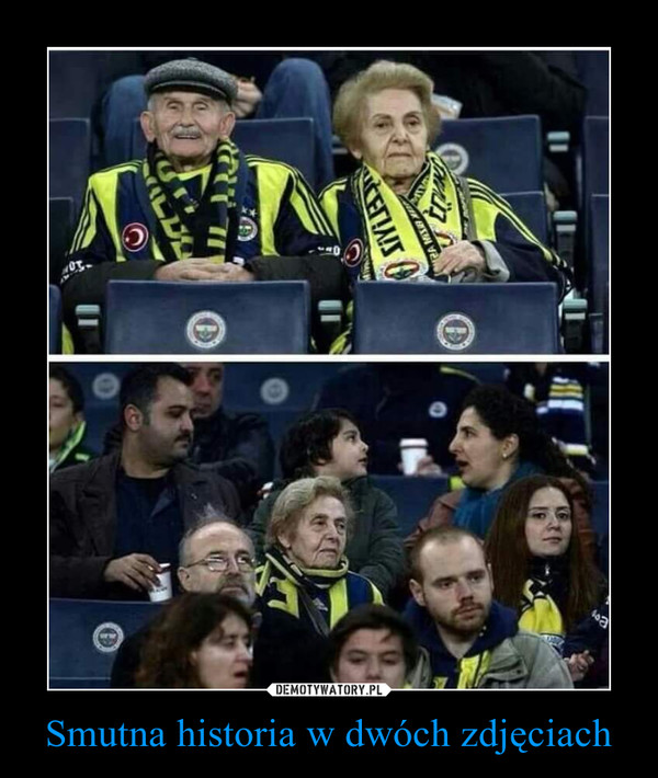 Smutna historia w dwóch zdjęciach –