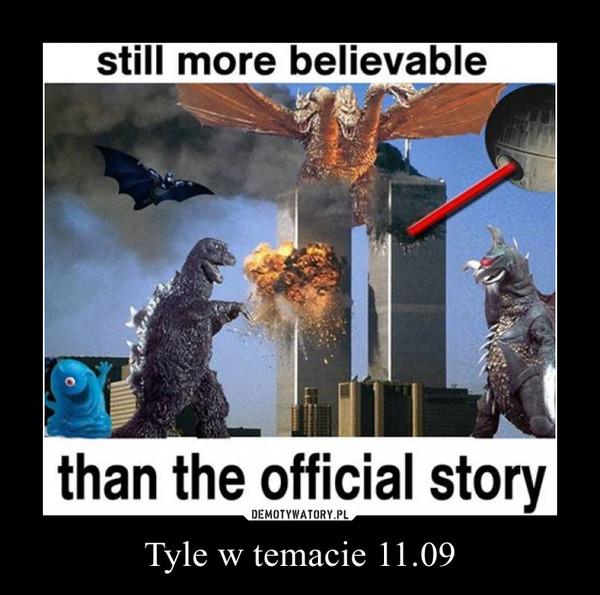 Tyle w temacie 11.09 –