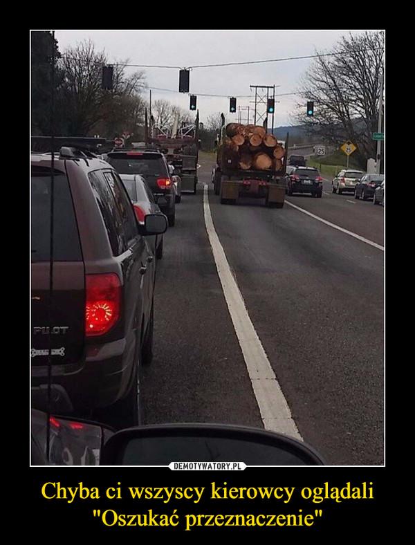 """Chyba ci wszyscy kierowcy oglądali """"Oszukać przeznaczenie"""" –"""
