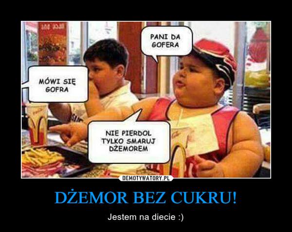 DŻEMOR BEZ CUKRU! – Jestem na diecie :)