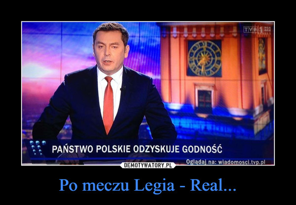 Po meczu Legia - Real... –