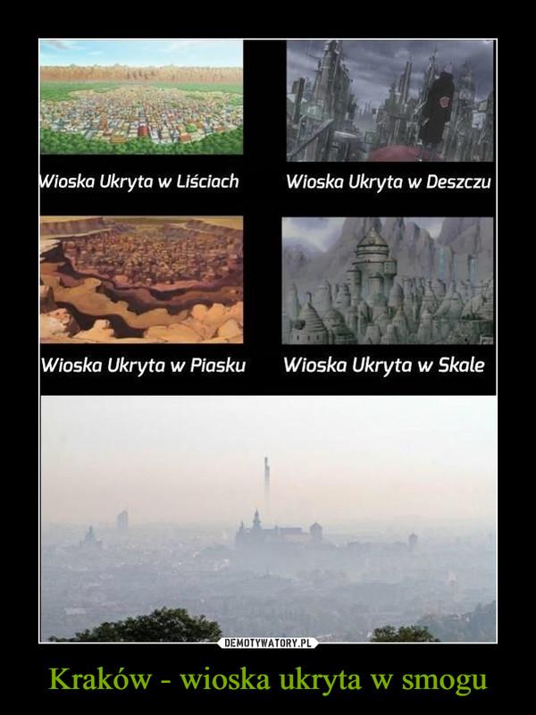 Kraków - wioska ukryta w smogu –  Wioska ukryta w LiściachWioska Ukryta w DeszczuWioska ukryta w PiaskuWioska ukryta w Skale