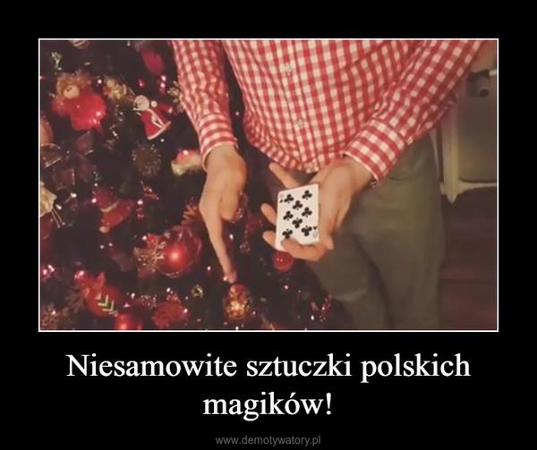 Niesamowite sztuczki polskich magików! –