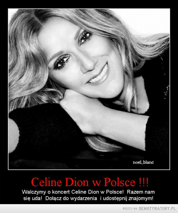 Celine Dion w Polsce –