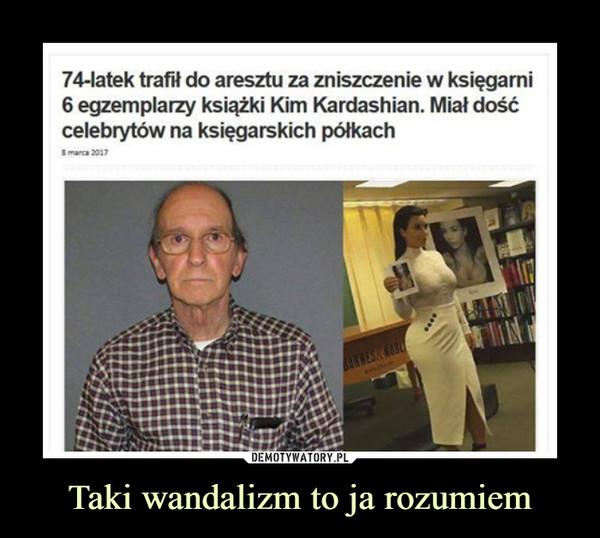 Taki wandalizm to ja rozumiem –  74-latek trafił do aresztu za zniszczenie w księgarni6 egzemplarzy książki Kim Kardashian. Miał dośćcelebrytów na księgarskich półkach