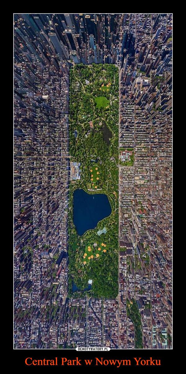 Central Park w Nowym Yorku –
