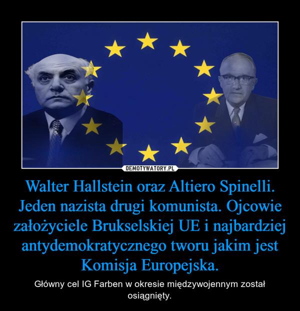 Imagini pentru NAZISTUL WALTER HALLSTEIN,POZE