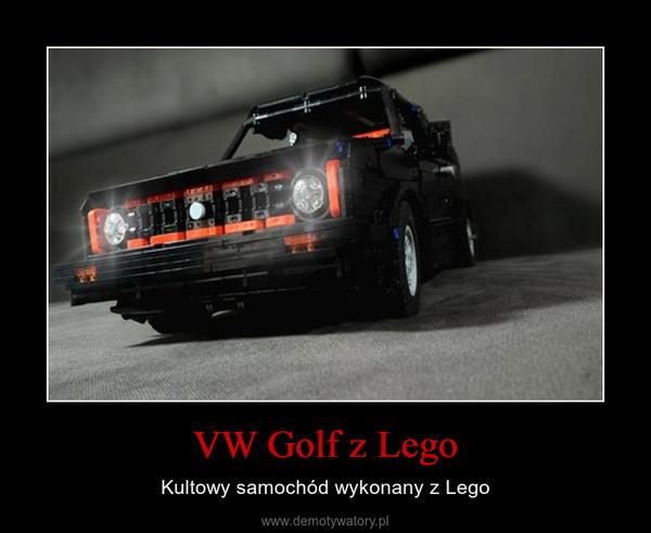 VW Golf z Lego – Kultowy samochód wykonany z Lego