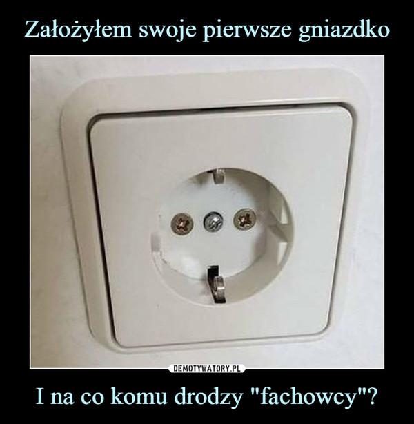"I na co komu drodzy ""fachowcy""? –"