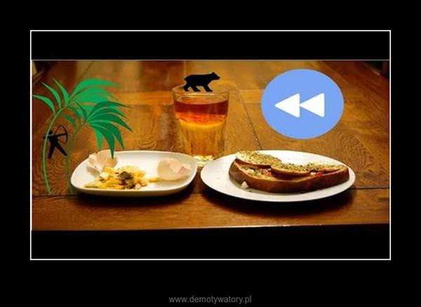Śniadanie OD TYŁU –
