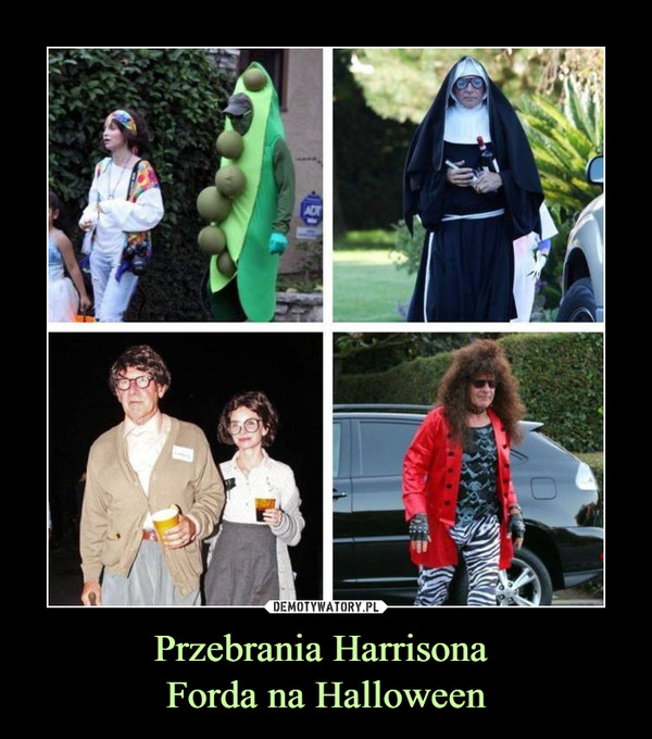 Przebrania Harrisona Forda na Halloween –