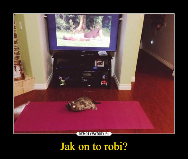 Jak on to robi? –