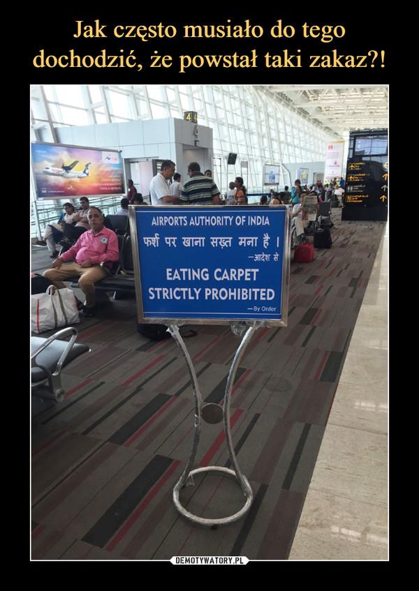 –  airports authority of indiaeating carpet strictly prohibited
