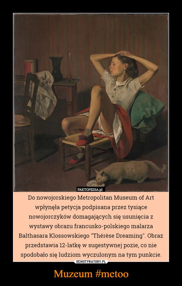 Muzeum #metoo –