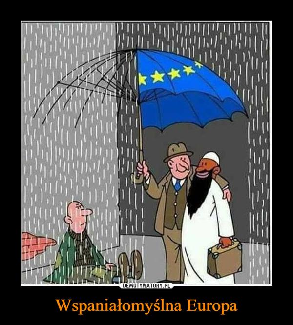 Wspaniałomyślna Europa –