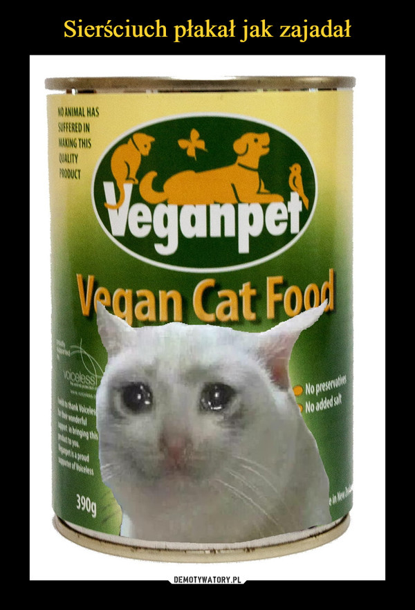 –  VeganpetVegan Cat Food