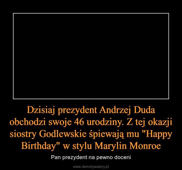 Dzisiaj Prezydent Andrzej Duda Obchodzi Swoje 46 Urodziny Z Tej