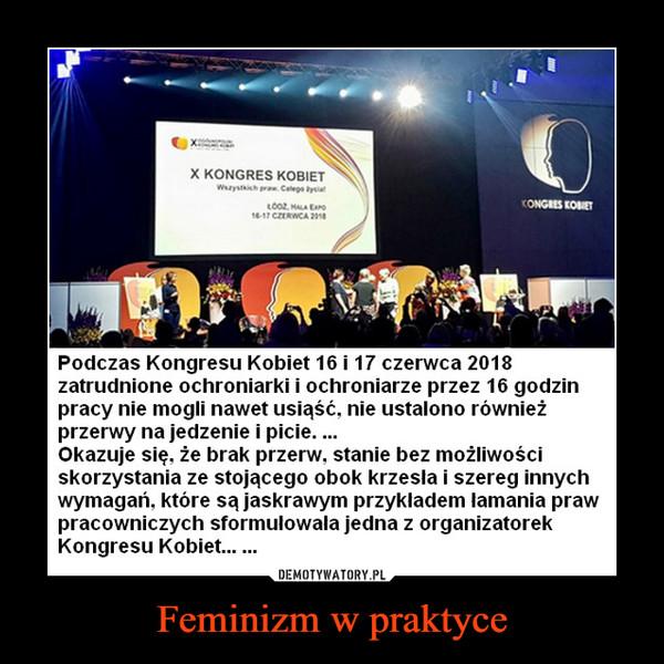 Feminizm w praktyce –