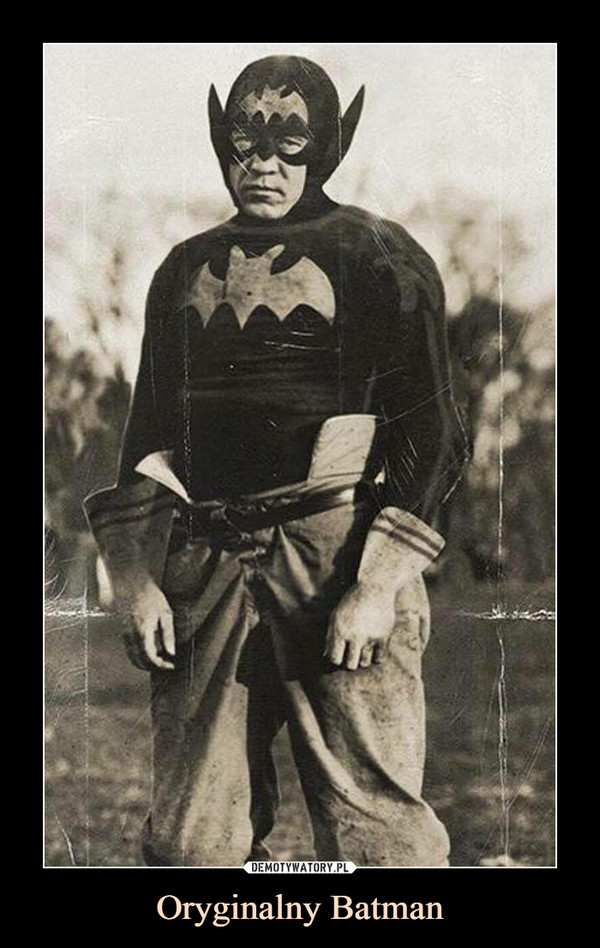 Oryginalny Batman –