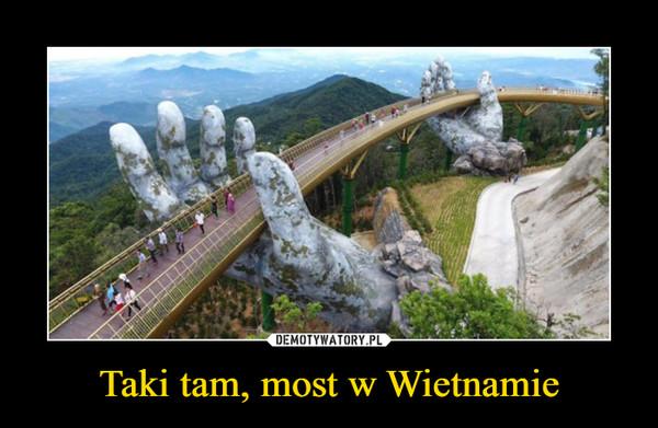 Taki tam, most w Wietnamie –