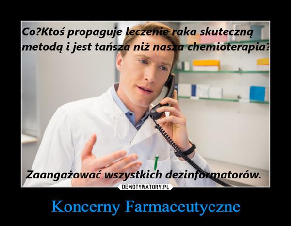 Koncerny Farmaceutyczne –