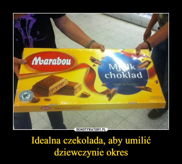 Idealna czekolada, aby umilić dziewczynie okres –