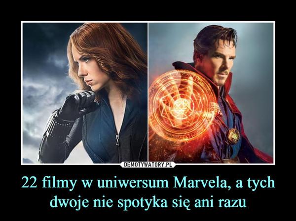 22 filmy w uniwersum Marvela, a tych dwoje nie spotyka się ani razu –