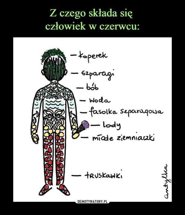 –  koperekszparagibóbwoda fasolka szparagowalodymłode ziemniaczkitruskawki