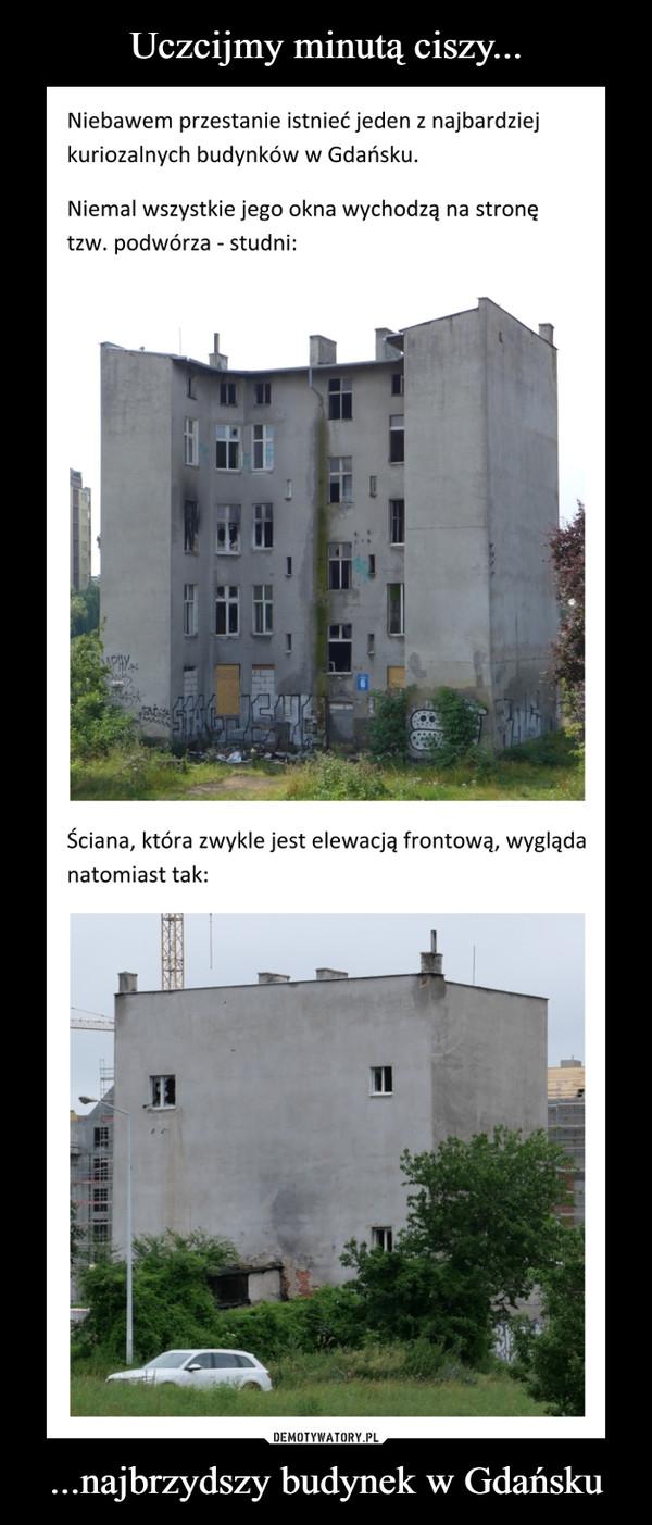 ...najbrzydszy budynek w Gdańsku –