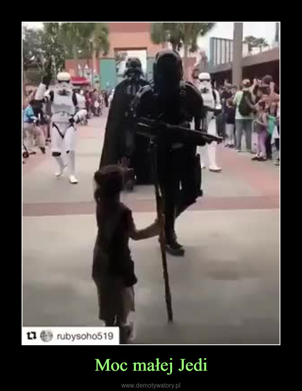 Moc małej Jedi –