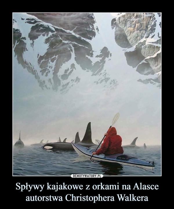 Spływy kajakowe z orkami na Alasce autorstwa Christophera Walkera –