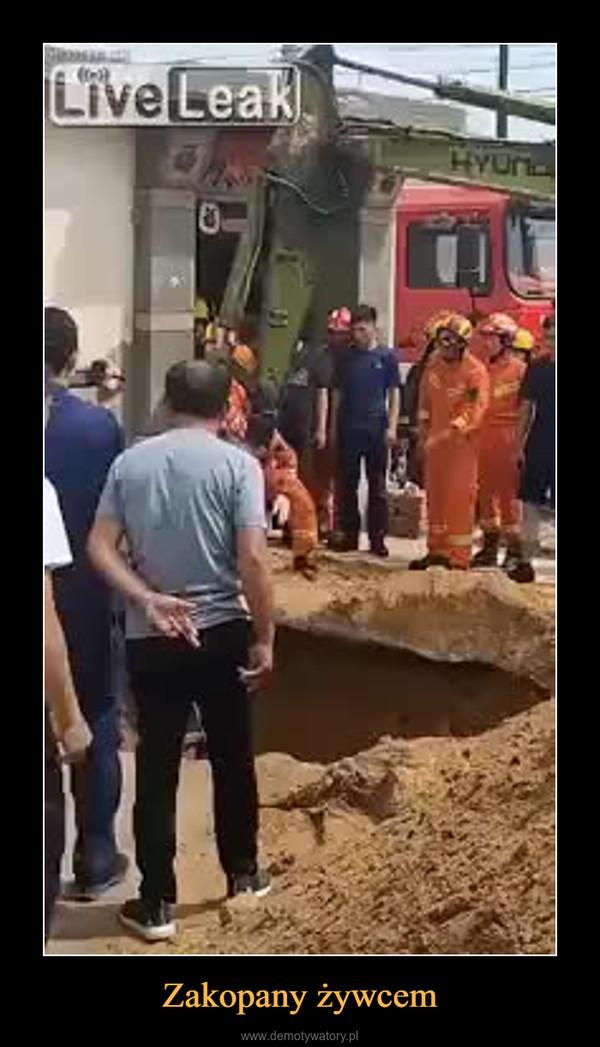 Zakopany żywcem –
