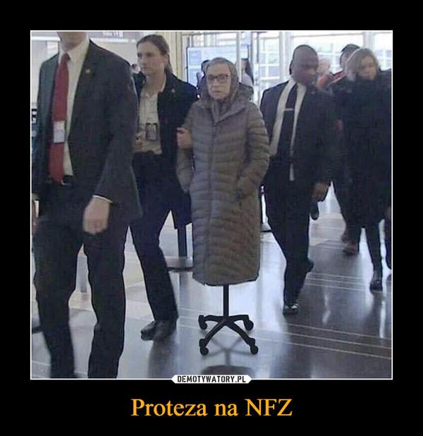 Proteza na NFZ –