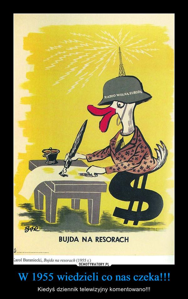 W 1955 wiedzieli co nas czeka!!! – Kiedyś dziennik telewizyjny komentowano!!!