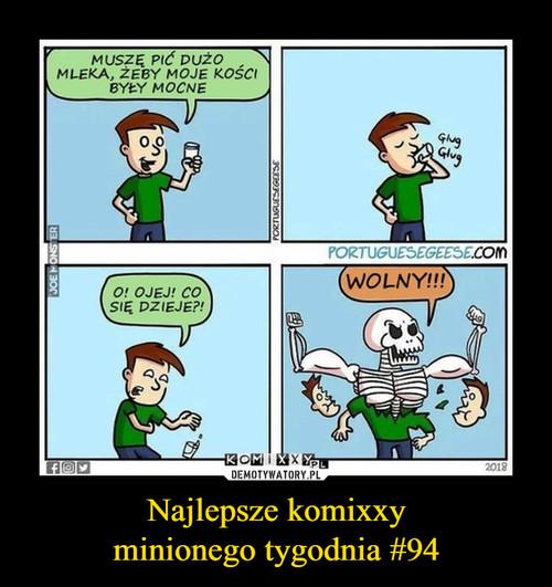 Najlepsze komixxy minionego tygodnia #94