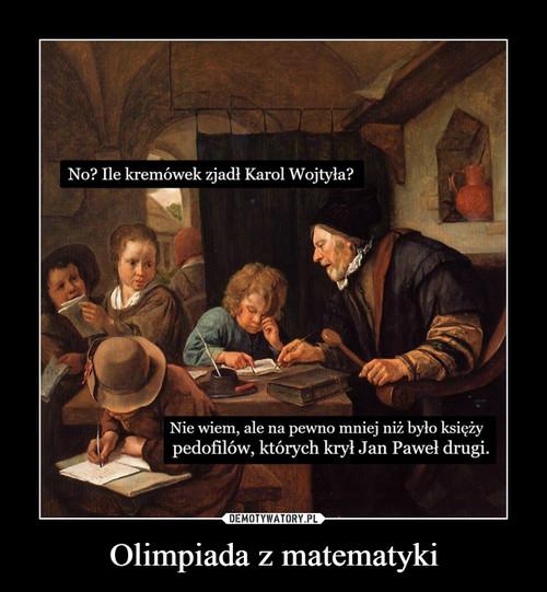 Olimpiada z matematyki