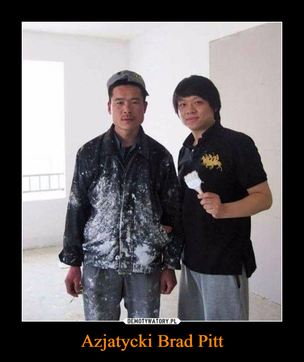 Azjatycki Brad Pitt –