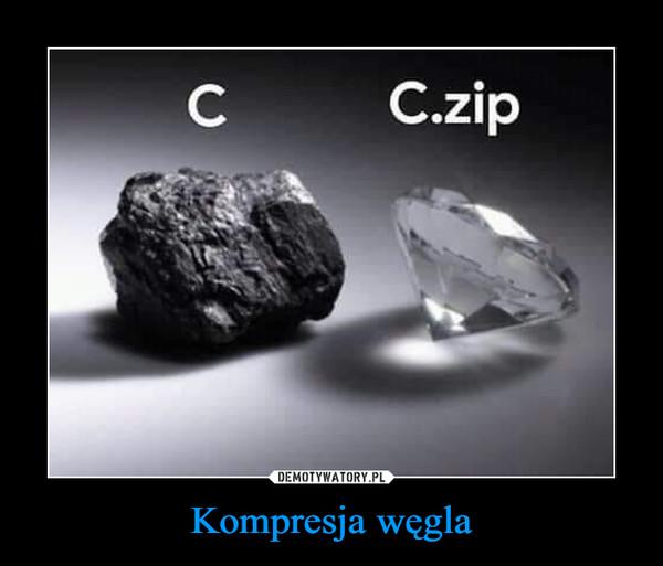 Kompresja węgla –