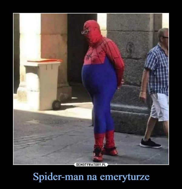 Spider-man na emeryturze –