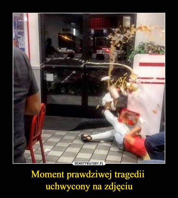 Moment prawdziwej tragedii uchwycony na zdjęciu –