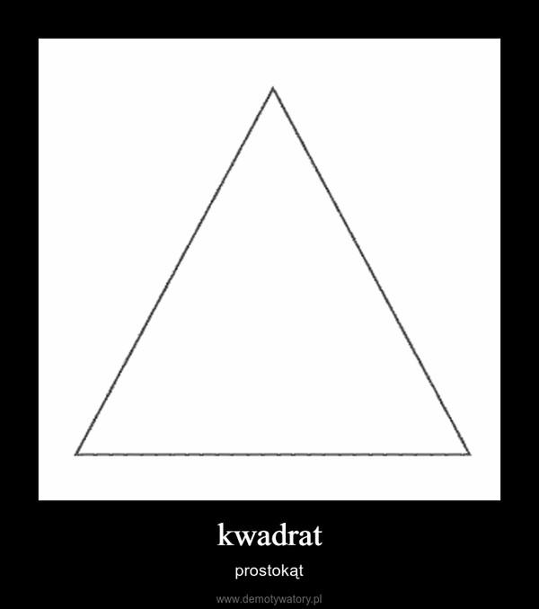 kwadrat – prostokąt