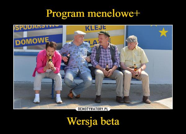 Wersja beta –