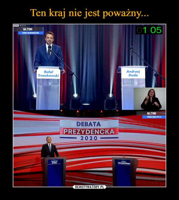 –  Debata Prezydencka 2020 Rafał trzaskowski Andrzej Duda