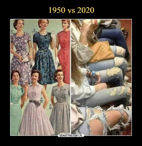 1950 vs 2020
